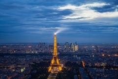 Lighting up Paris