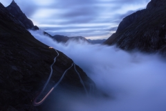 Fog at Trollstigen