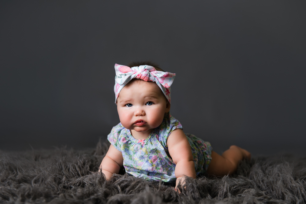 Portrait of a 6 month old