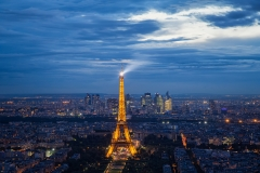 Lighting up Paris